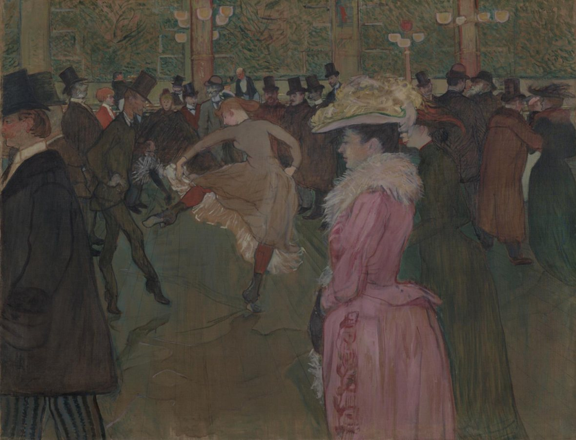 At the Moulin Rouge: The Dance, 1889-90