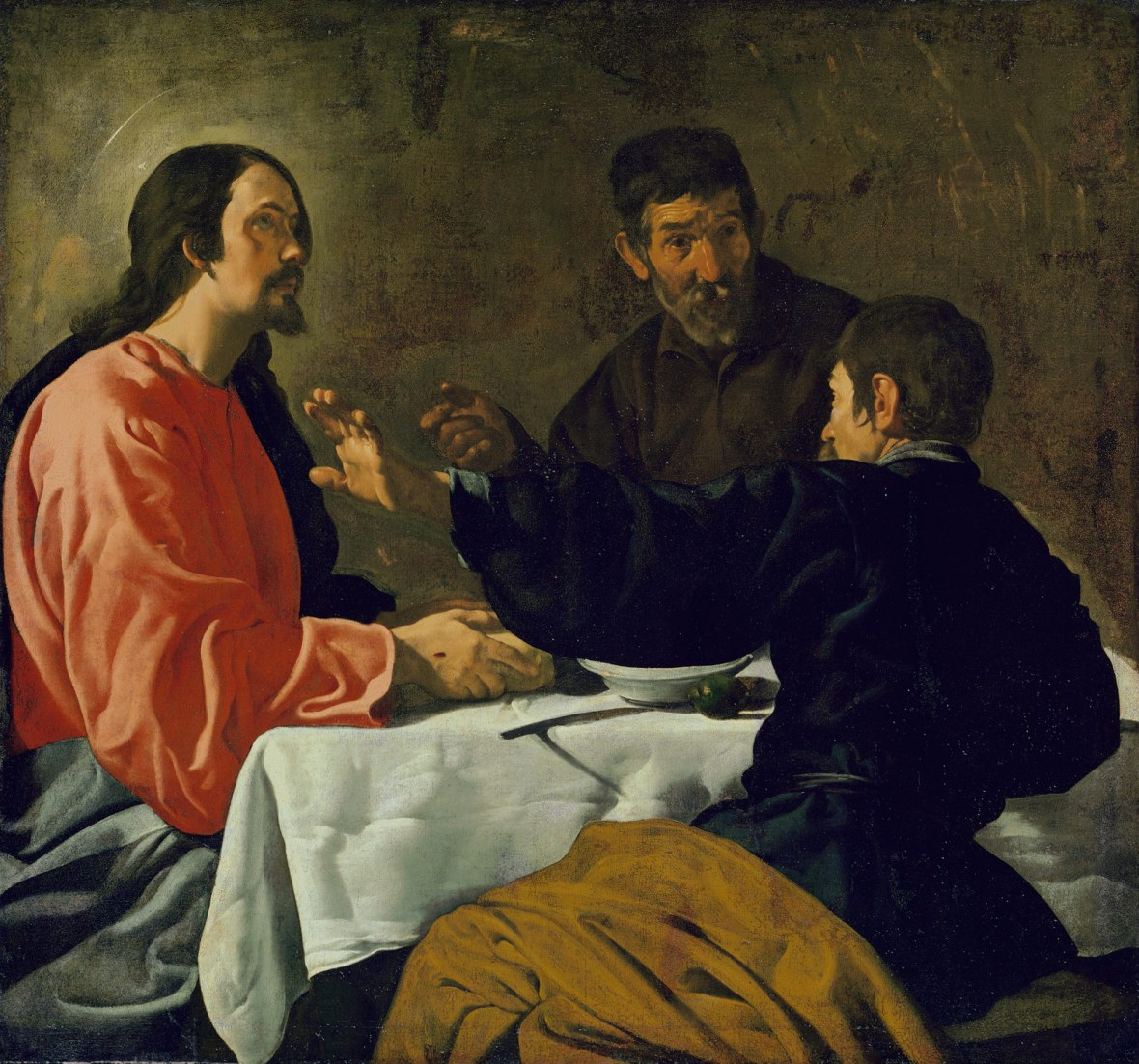 Supper at Emmaus created between 1622 and 1623
