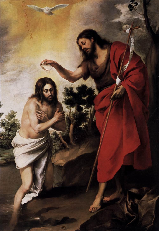 Murillo, The Baptism of Christ, 1655.
