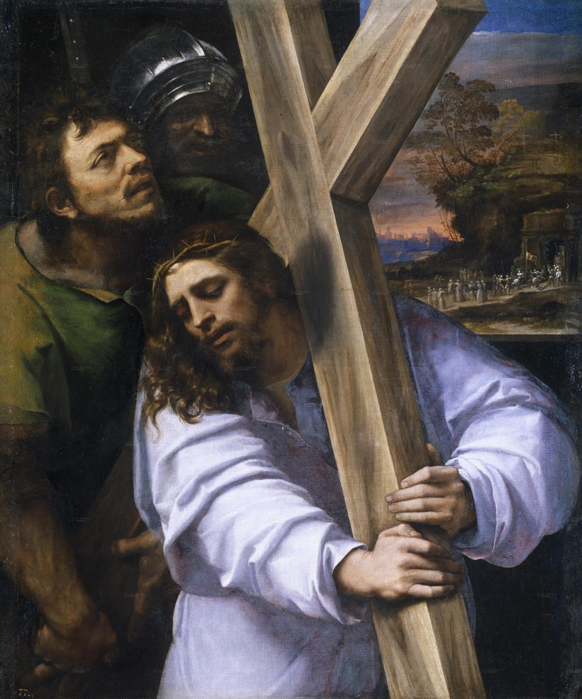 Sebastiano del Piombo, Jesus Carrying the Cross, 1516