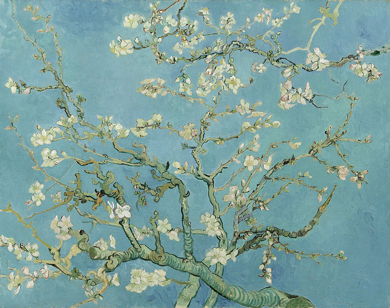 Vincent van Gogh, Almond Blossoms, 1890
