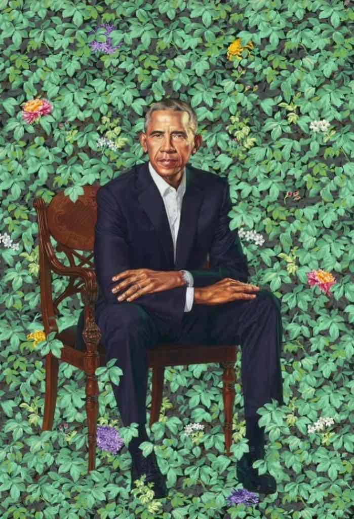 Barack Obama, Kehinde Wiley, 2018