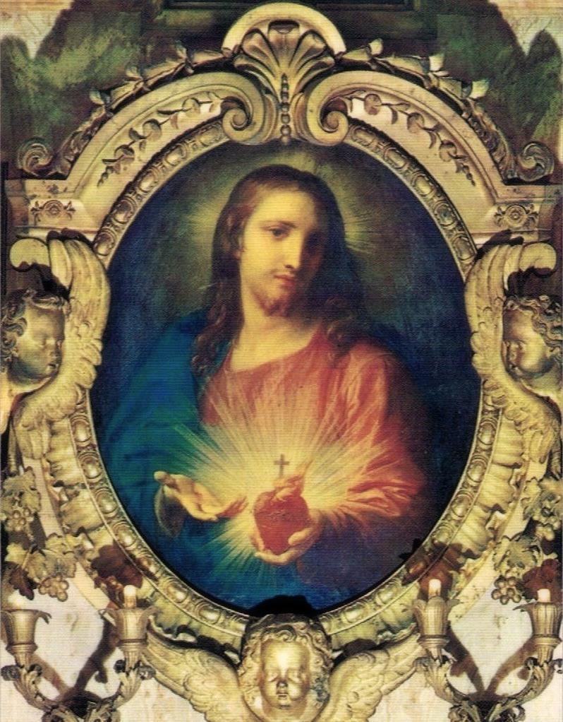 Batoni, Sacred Heart of Jesus