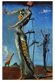 The Burning Giraffe, Dali