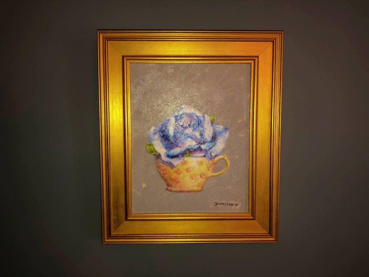 David Frame's Rose in a Teacup