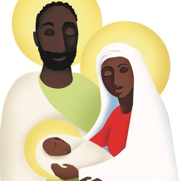 header image of holy family