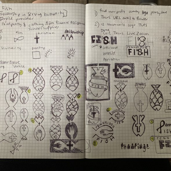 sketchbook designs of logos
