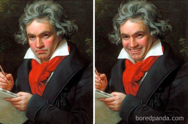 Ludwig Van Beethoven By Joseph Karl Stieler