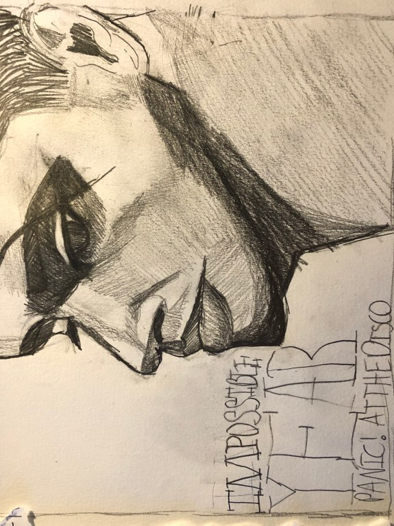 Portrait  of Brendon Urie from Panic! At The Disco