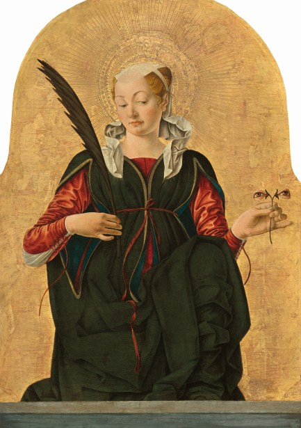 Francesco del Cossa, Saint Lucy, c. 1473/1474