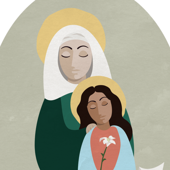 saint anne and mary