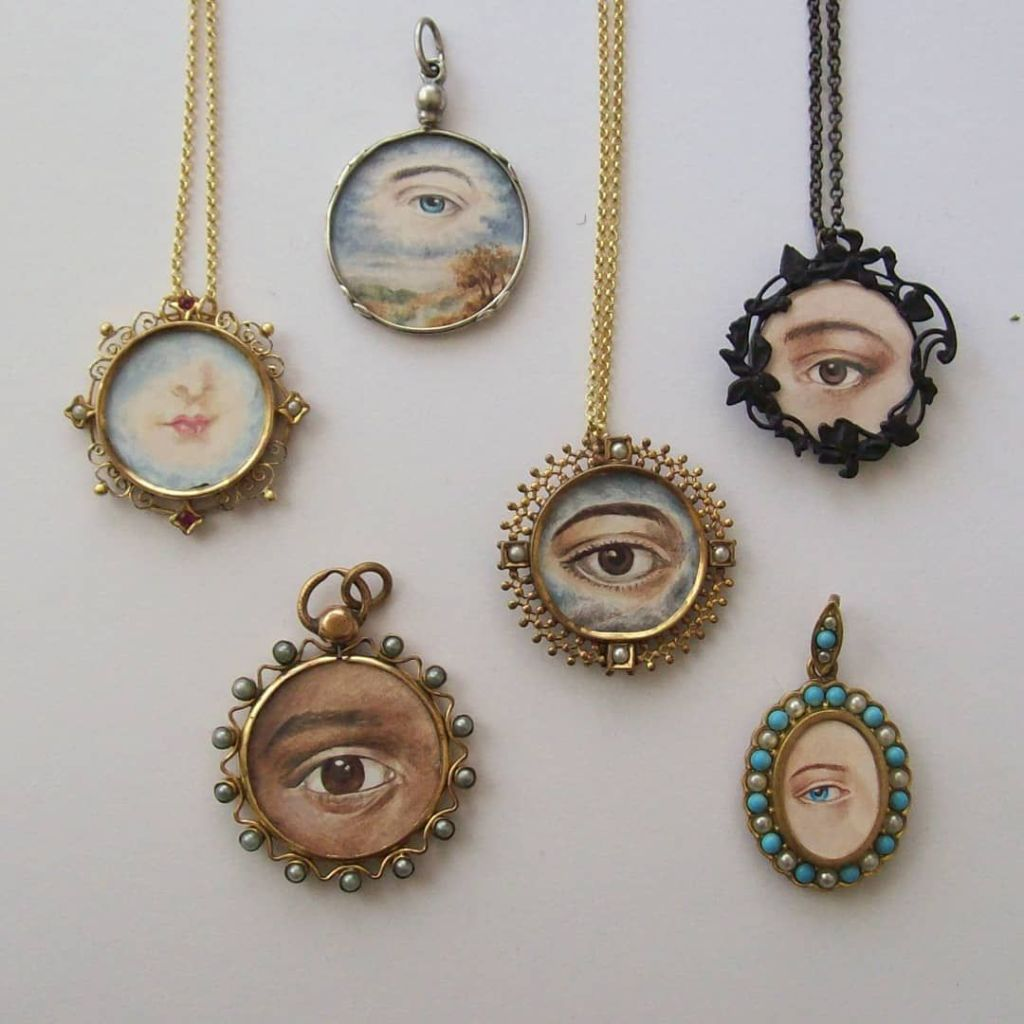 Lover's Eye Necklaces