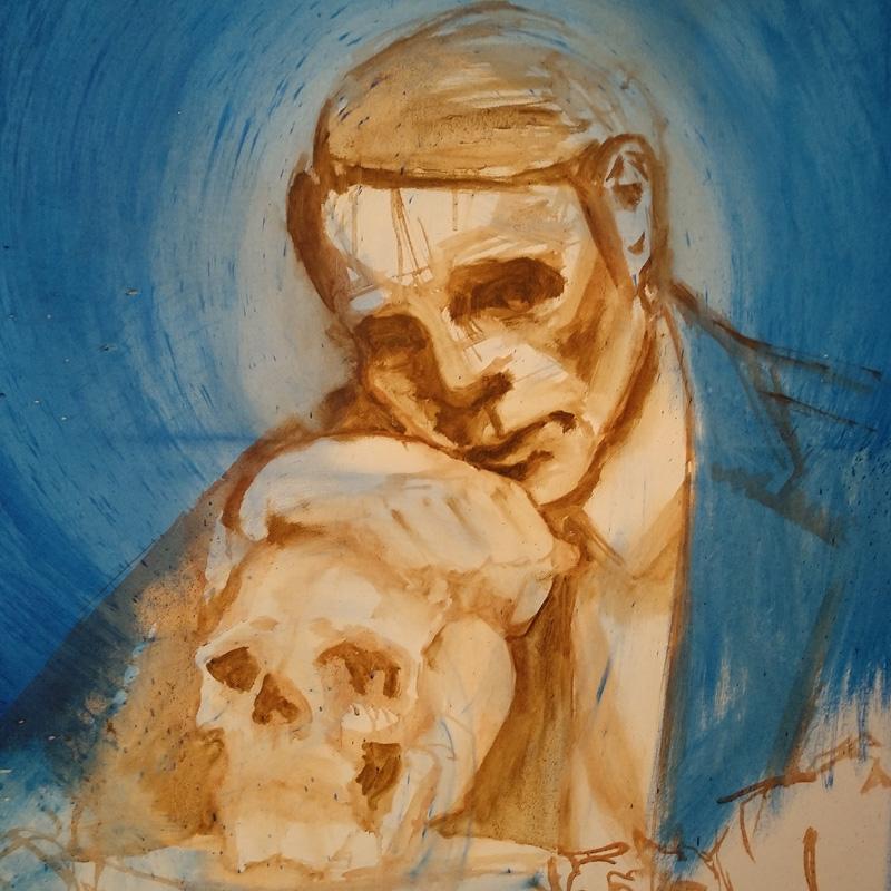 Tumnus Moran New Hannibal Painting Progress 1