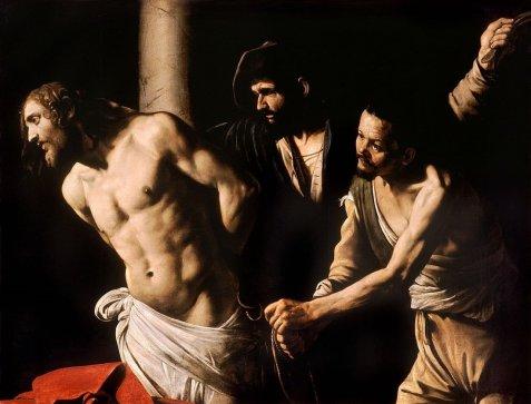 Caravaggio, Christ at the Column, 1607