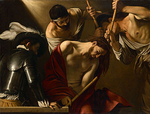 Caravaggio, The Crowning with Thorns, 1602/04/07
