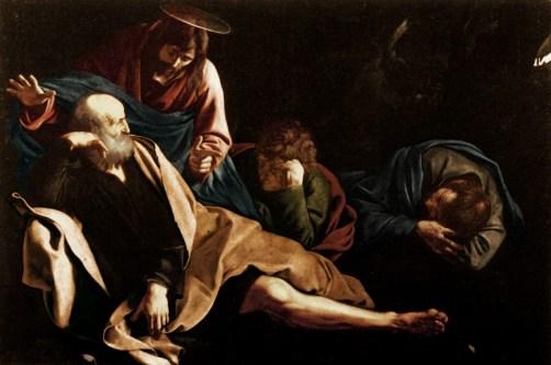 Caravaggio, Christ in the Garden, 1603