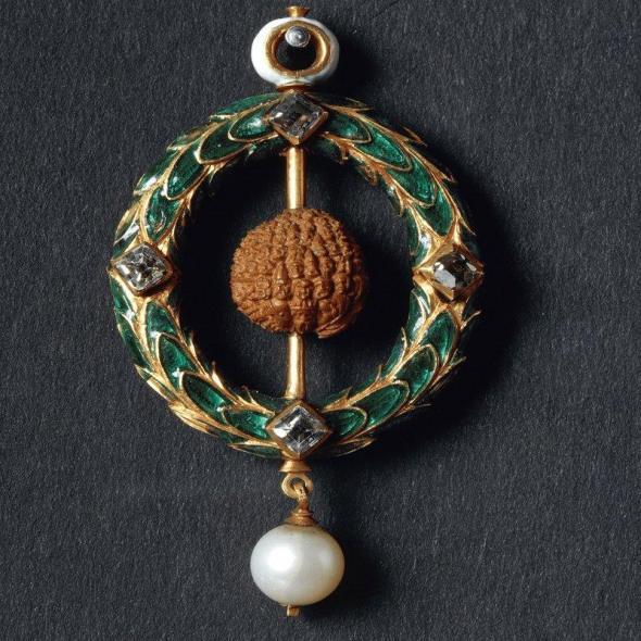 Properzia de Rossi, Carved Cherry Stone Pendant, 1510-1530