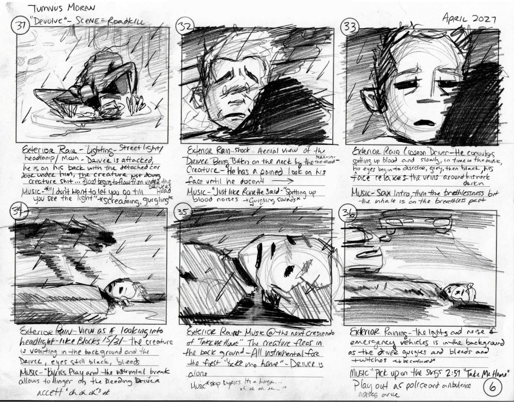 Tumnus Moran Storyboarding Page 6