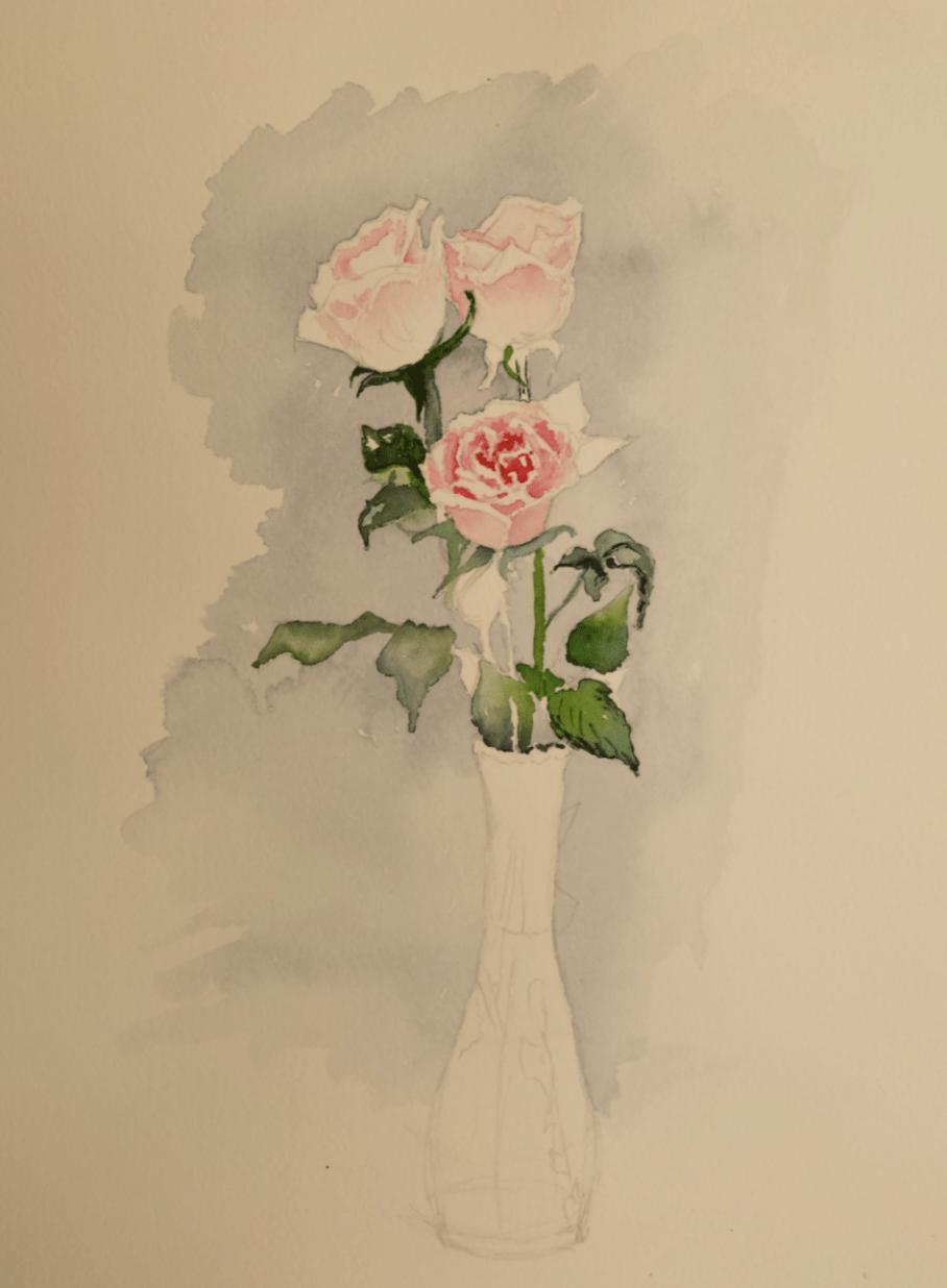 Geraldine Kick Roses