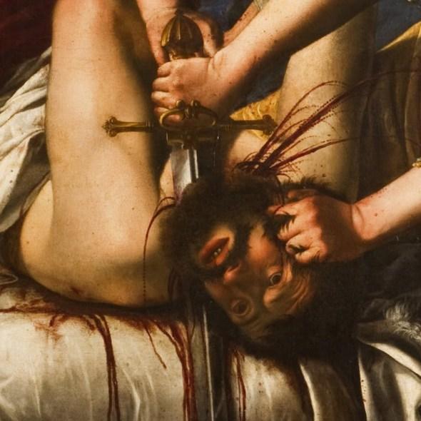 Artemisia Gentileschi, Judith Beheading Holofernes, 1621