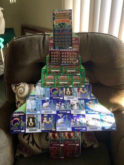 Lotto Christmas Tree