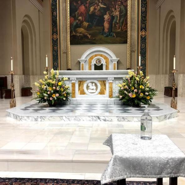 Saint Peters Cathedral Altar