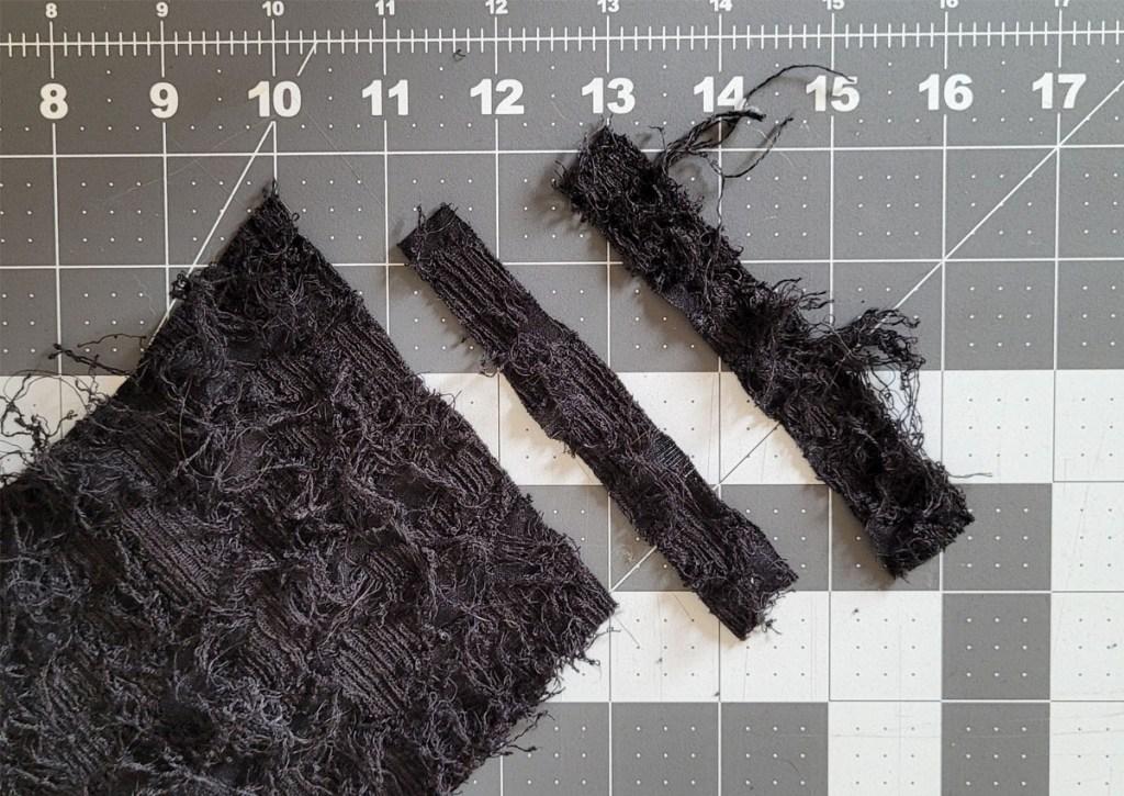 Tumnus Moran Fathers Day Project Fabric Cutting