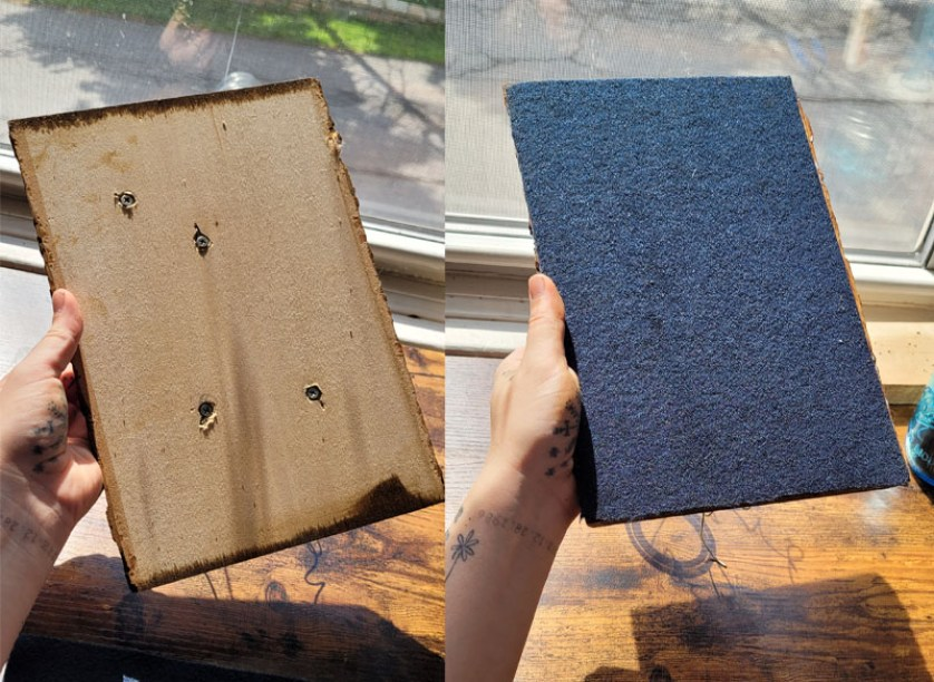 Tumnus Moran Fathers Day Project Holes Before and After