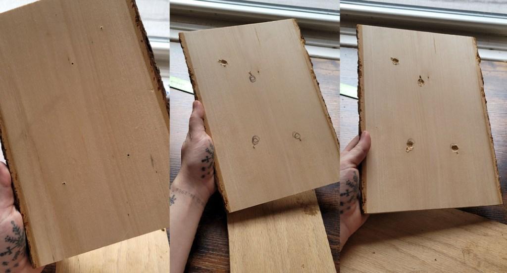 Tumnus Moran Fathers Day Project Holes
