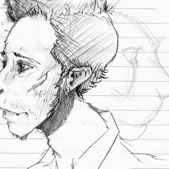 Tumnus Moran Cat Character Sketch Featured Image