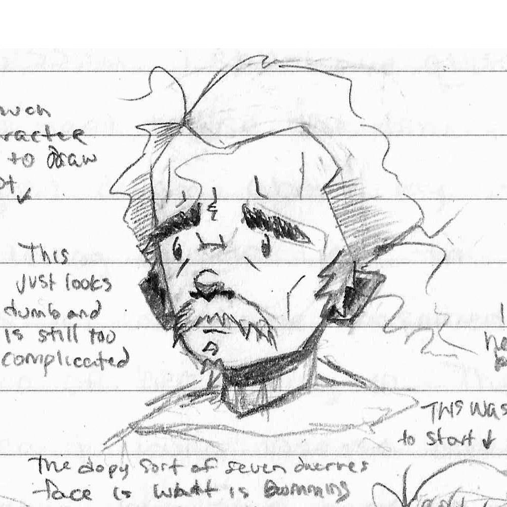 Tumnus Moran Character Sketch Michal 2