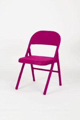 Tanya Aguiñiga, Folding chair, 2018, Carnegie Museum of Art