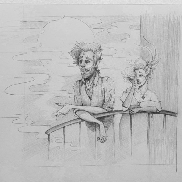 Tumnus Moran Can of Worms Sketch Featured