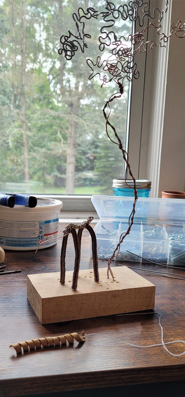 Tumnus Moran Little Horse and Tree 2