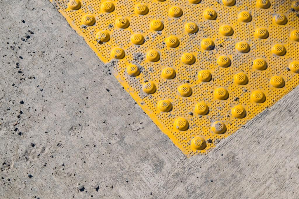 Abstract sidewalk