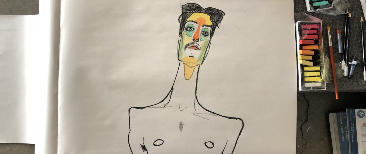 My Egon Drawing