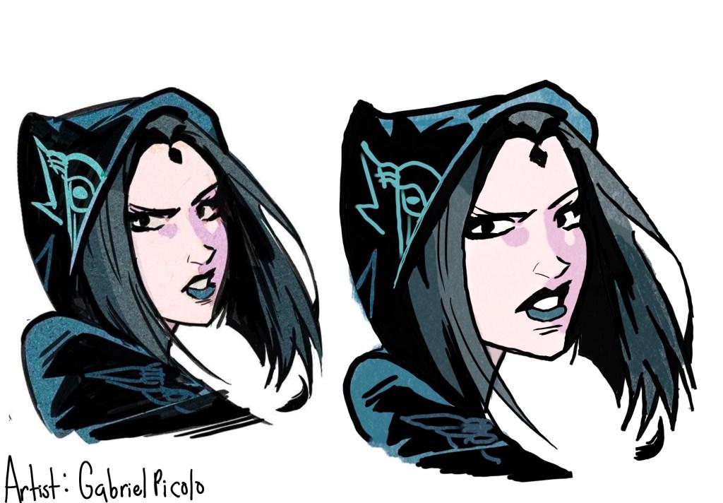 Raven  Character Study