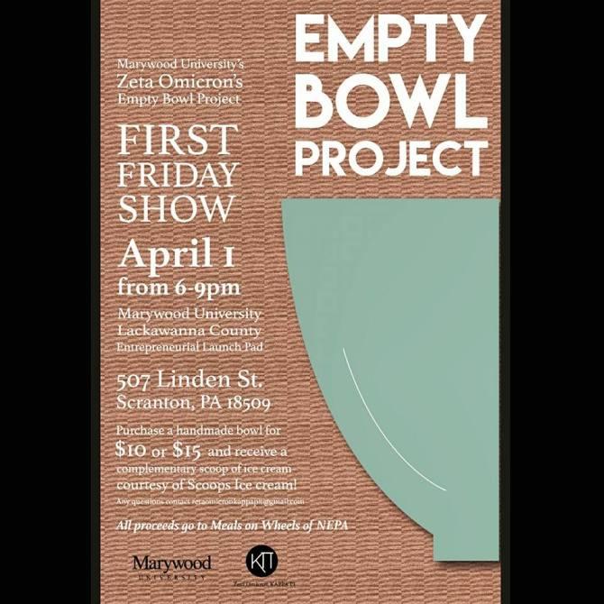 Empty Bowl Project fyer