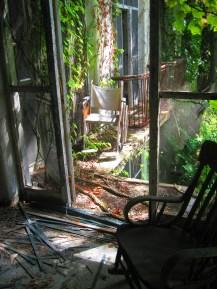 photo, chair, door