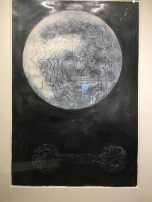 Black and white artwork