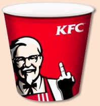 KFC FINGER BUCKET