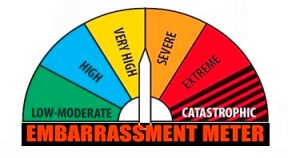 EMBARRASSMENT METER_Where Excuses Go to Die