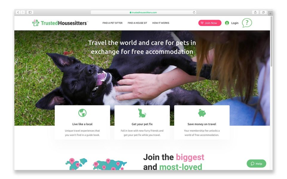 Traveling on a budget: join TrustedHousesitters