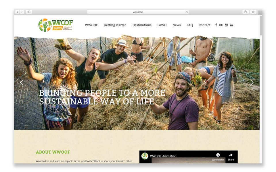 WWOOF is one of the best ways to save money while traveling on a budget