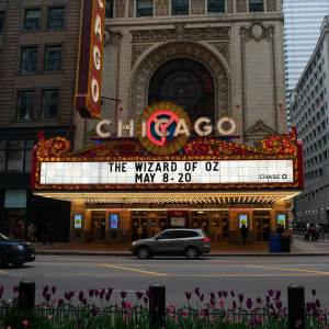 Looking for things to do in Chicago? See a show at the historic Chicago Theatre