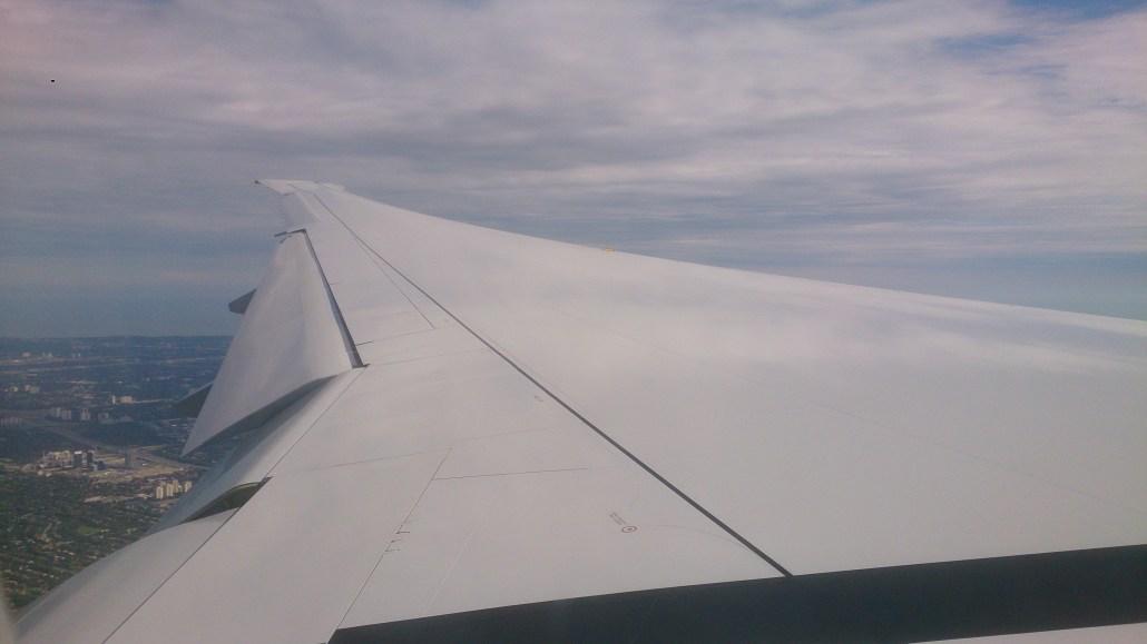 Hey Boss, dee plane, dee plane! Munich To Toronto 2013 (sept)
