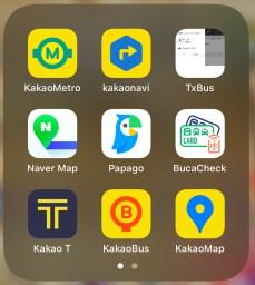 11 apps for south korea