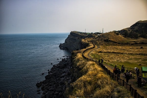 Songsak Mountain Things To Do In Jeju road trip