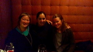 Jessica and Nicola (another Rachna friend) and I went to yoga and promptly had a fab dinner and wine after. Namaste.