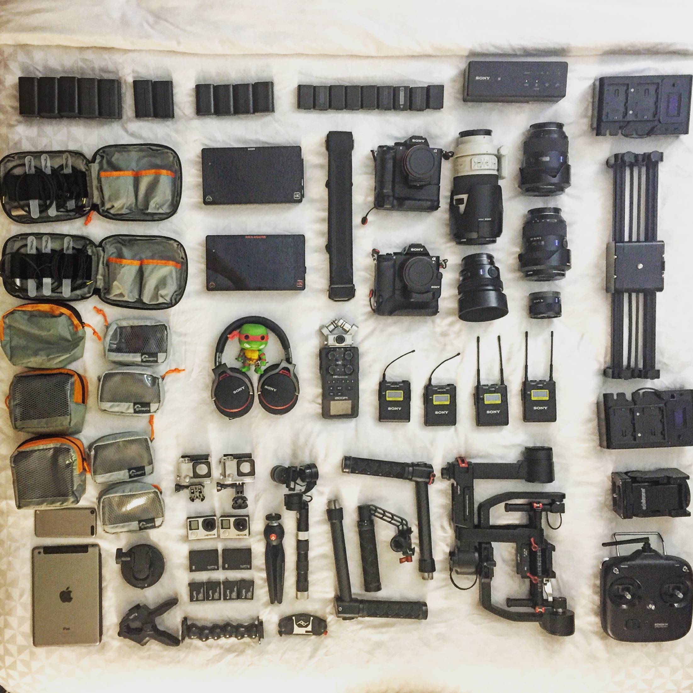 How Much Gear To Bring